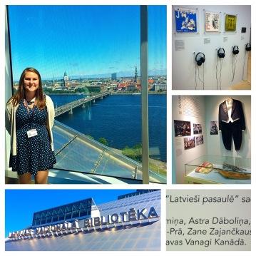 Astra Dāboliņa: Dažas bildes no LaPas izstāde LNB.
